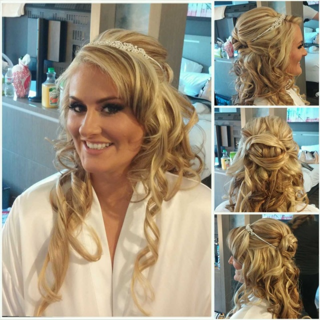 bridal hair | elisha evans styling